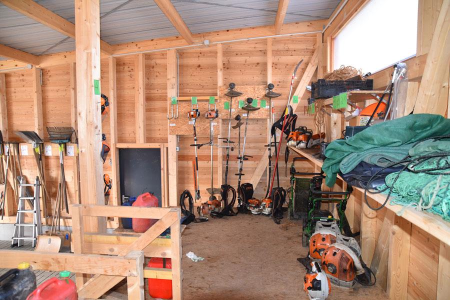 Das braucht der Gartenbauer: Arbeitsgeräte