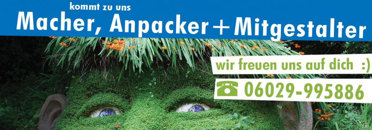 Heininger Stellenangebot Garten- + Landschafstbau
